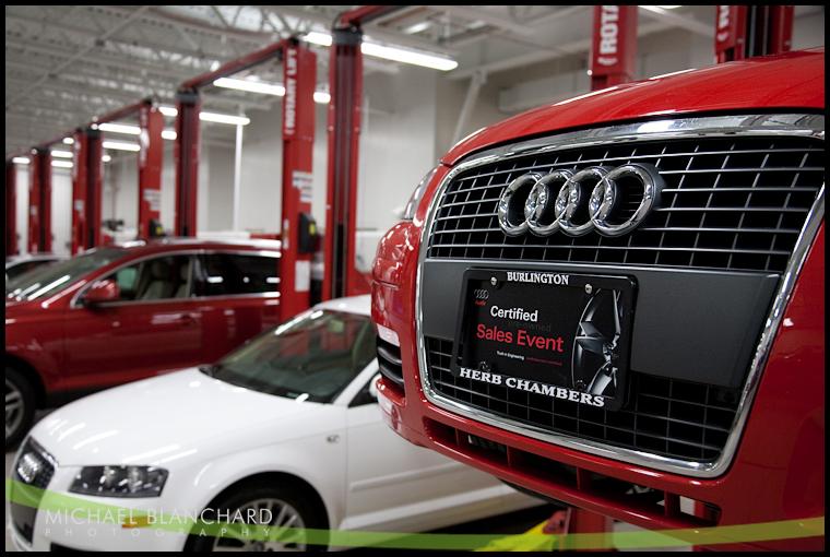 Herb Chambers Audi Of Burlington Grand Opening Michael Blanchard - Herb chambers audi