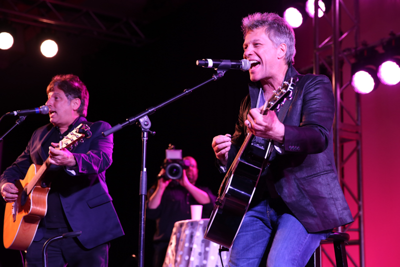 Bon Jovi Performs for Boston Hot Pink Party