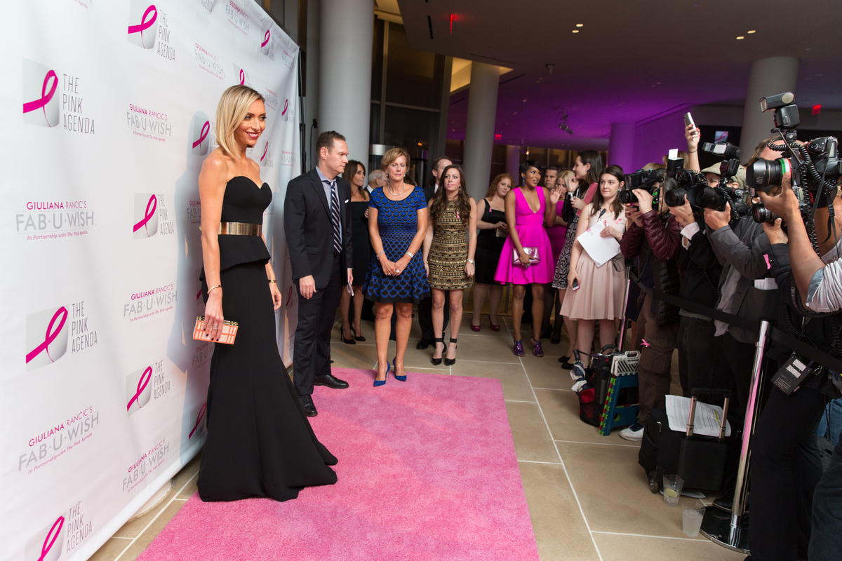 Giuliana Rancic Hosts 2014 Pink Agenda Gala in NYC